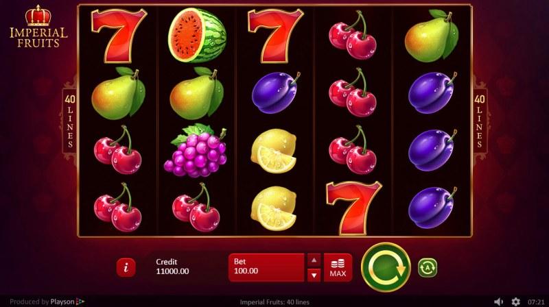 Fruit Supreme :: Main Game Board