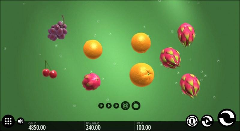 Fruit Wrap :: Multiple winning combinations
