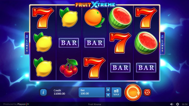 Fruit Xtreme :: Main Game Board