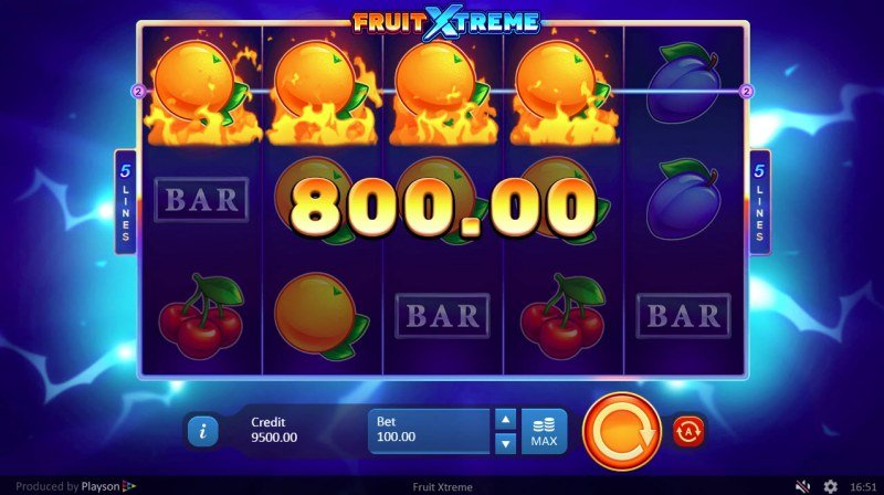 Fruit Xtreme :: Four of a kind