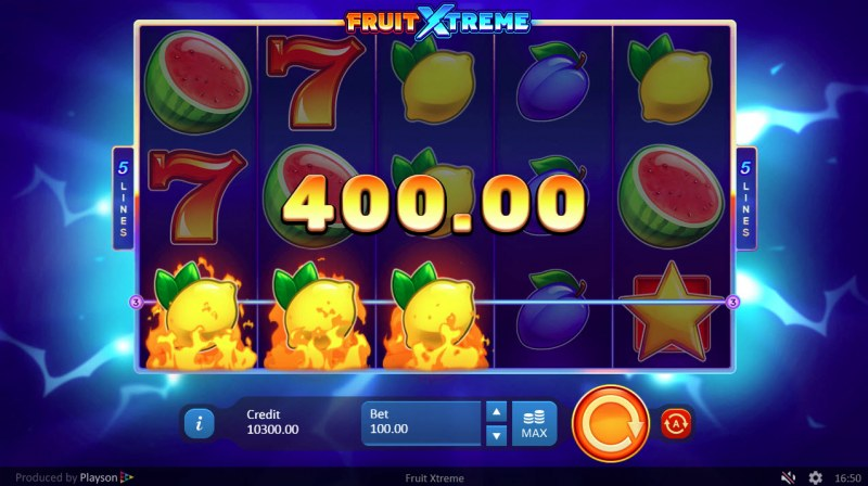 Fruit Xtreme :: Three of a kind