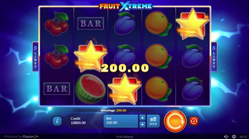 Fruit Xtreme :: Scatter Win