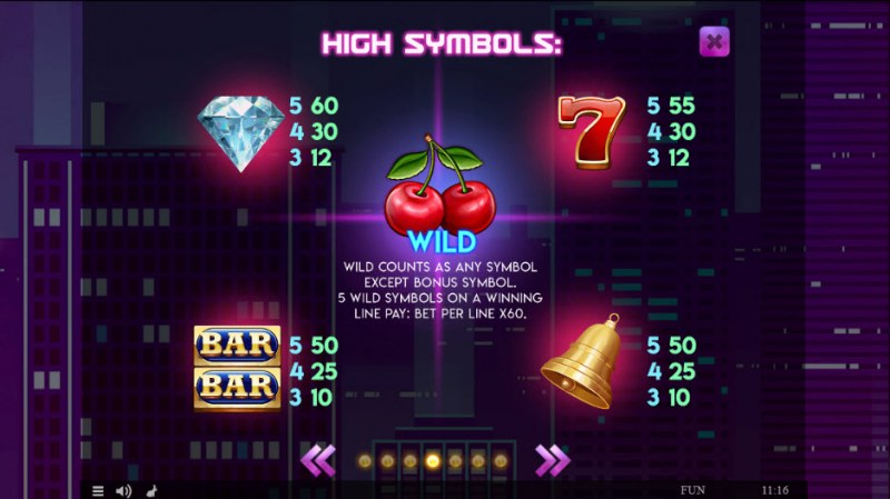 Fruits Deluxe Easter Edition :: Paytable - High Value Symbols