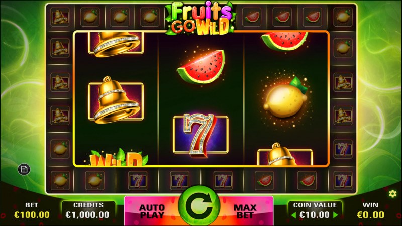 Fruits Go Wild :: Main Game Board