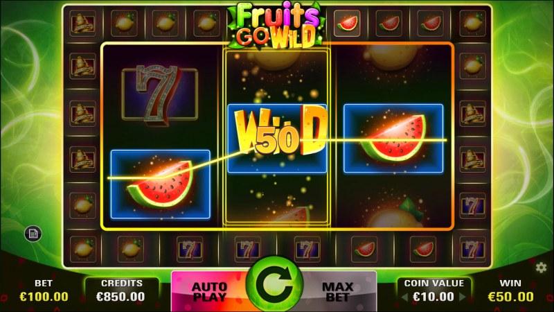 Fruits Go Wild :: Three of a kind