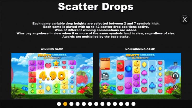 Fruity Bonanza Scatter Drops :: Scatter Drops