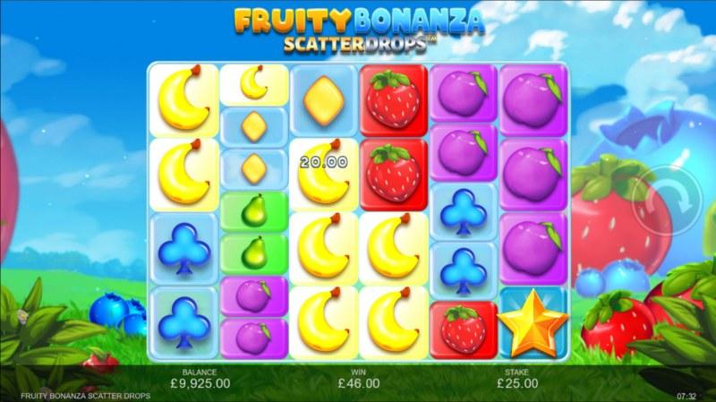 Fruity Bonanza Scatter Drops :: Multiple winning combinations