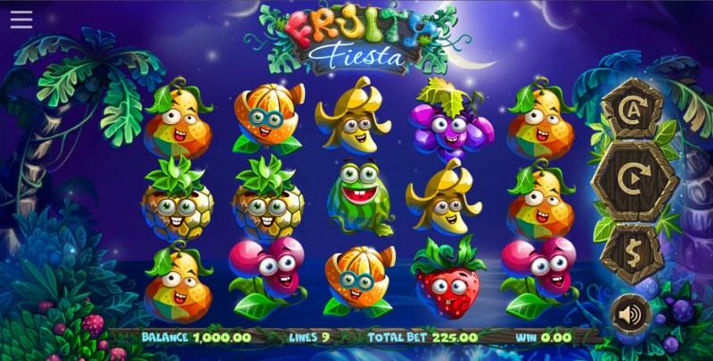 Fruity Fiesta :: Base Game Screen