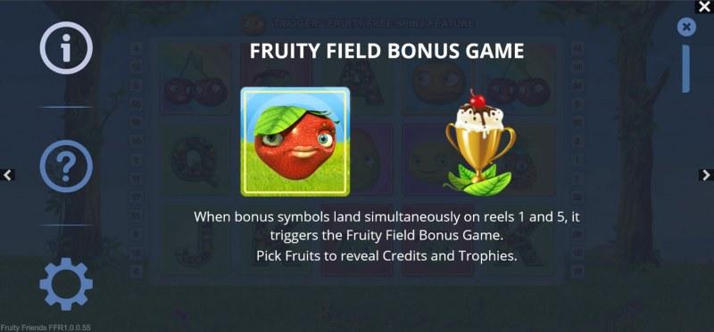 Fruity Friends :: Fruity Field Bonus Game
