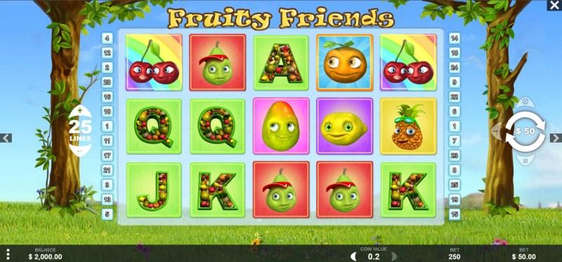 Fruity Friends :: Main Game Board