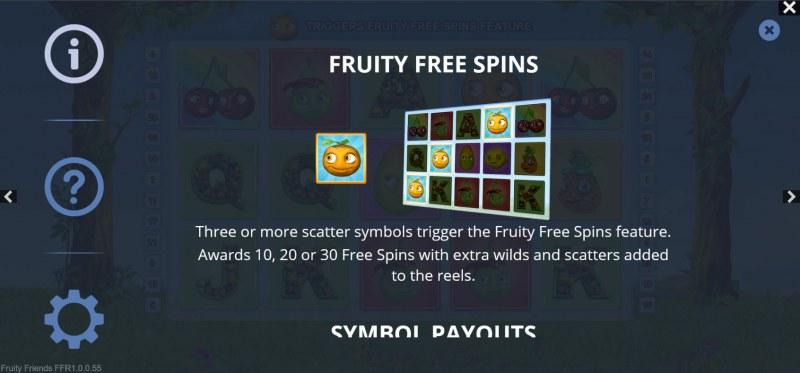 Fruity Friends :: Fruity Free Spins