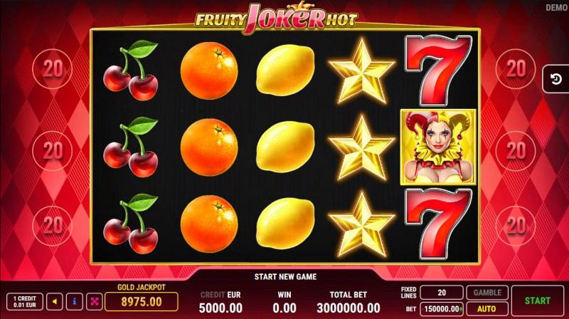 Fruity Joker Hot :: Main Game Board