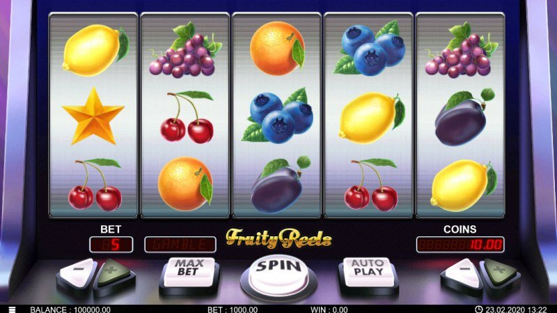 Fruity Reels :: Main Game Board