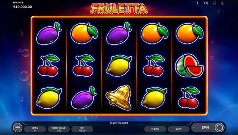Fruletta :: Base Game Screen