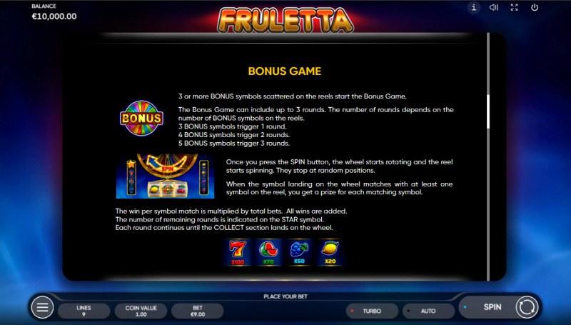 Fruletta :: Bonus Feature