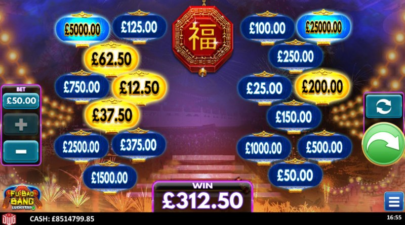 Fu Bao Bang :: Multiple winning combinations