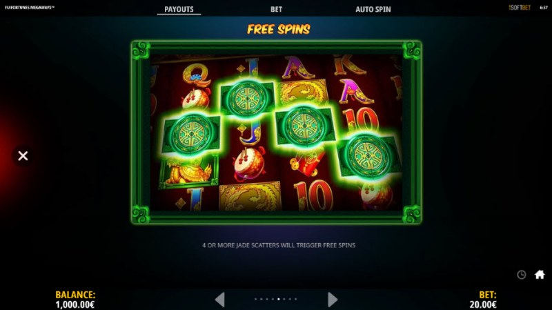 Fu Fortunes Megaways :: Free Spins Rules