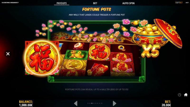 Fu Fortunes Megaways :: Fortune Pots
