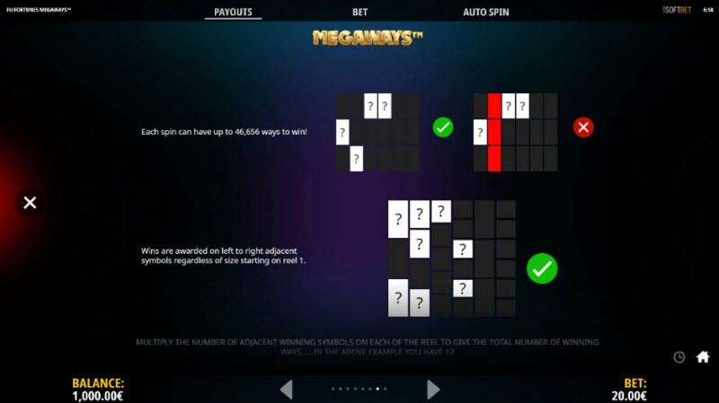 Fu Fortunes Megaways :: Megaways