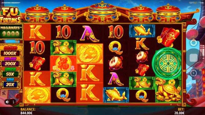 Fu Fortunes Megaways :: Multiple winning combinations