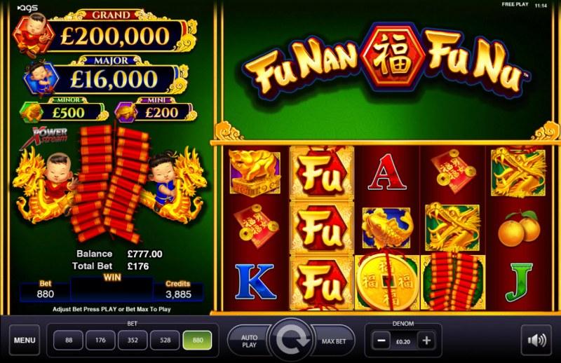 Fu Nan Fu Nu :: Main Game Board