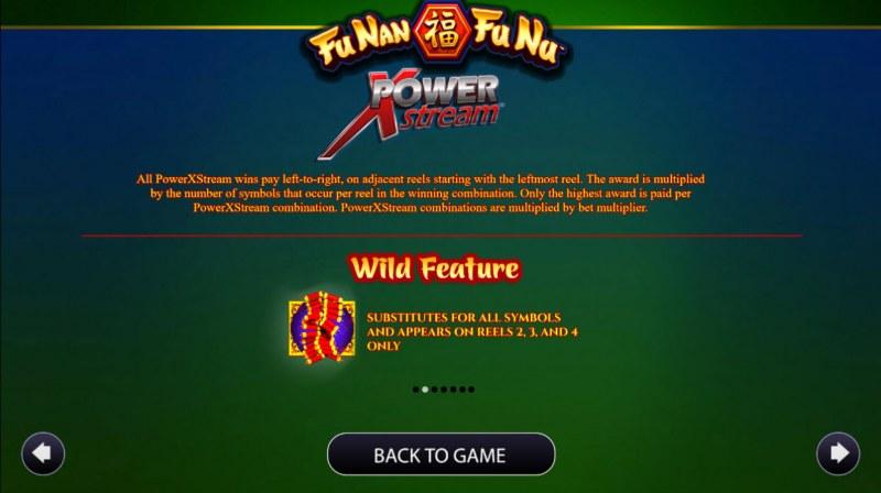 Fu Nan Fu Nu :: Wild Symbols Rules