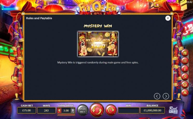 Fu Qi Er :: Mystery Win