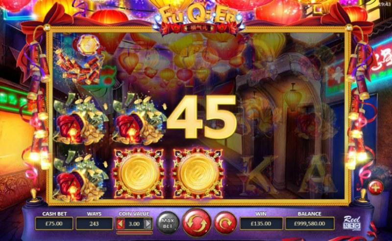 Fu Qi Er :: A three of a kind win
