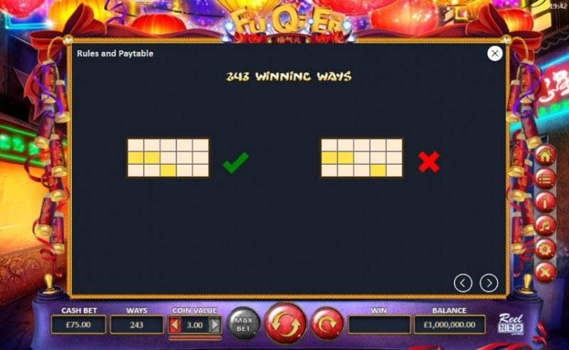 Fu Qi Er :: 243 Ways to Win