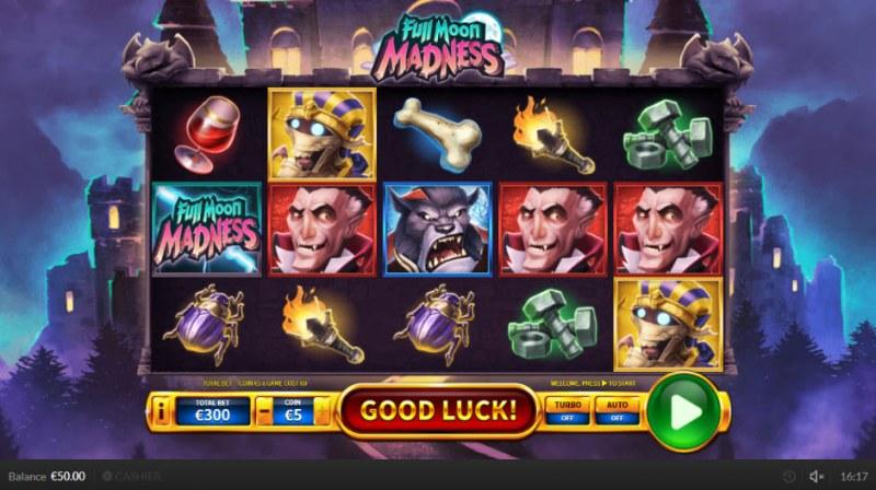 Full Moon Madness :: Main Game Board