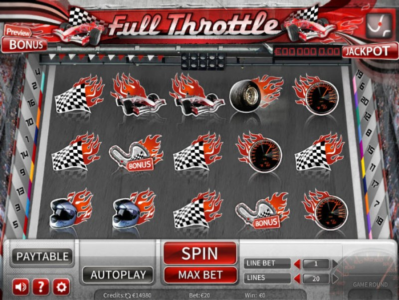 Full Throttle :: Main Game Board