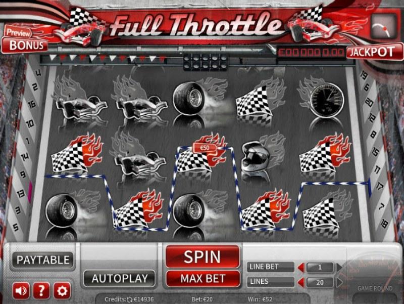 Full Throttle :: A five of a kind win