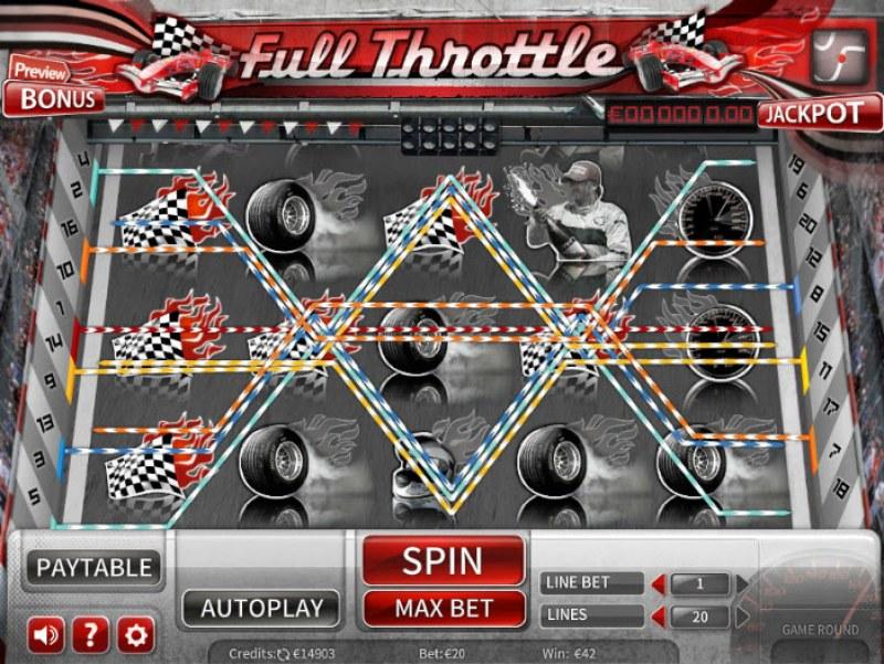 Full Throttle :: Multiple winning paylines