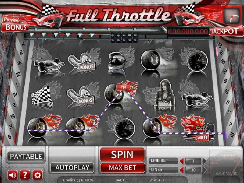 Full Throttle :: Five of a kind