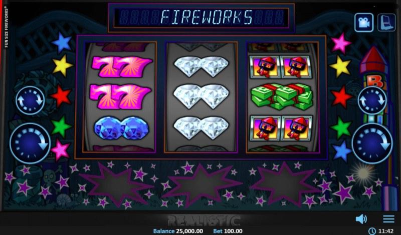 Fun Size Fireworks :: Main Game Board
