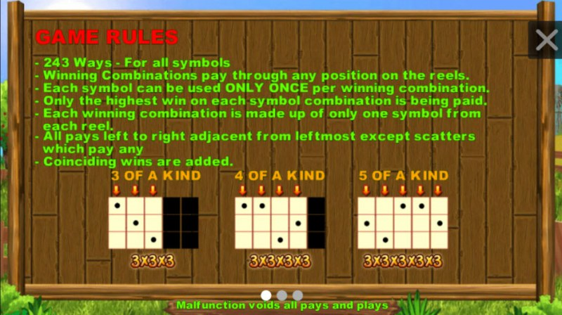Funny Farm :: General Game Rules