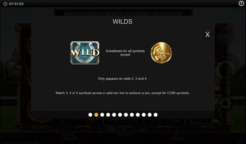 Furlong Fortunes Jumps :: Wild and Scatter Rules