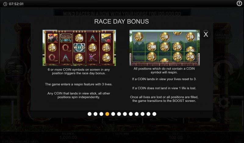 Furlong Fortunes Jumps :: Race Day Bonus