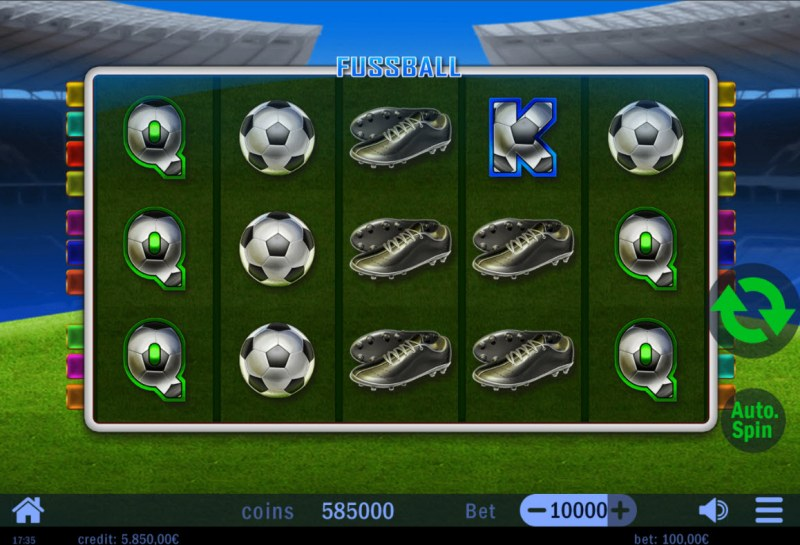 Fussball :: Main Game Board