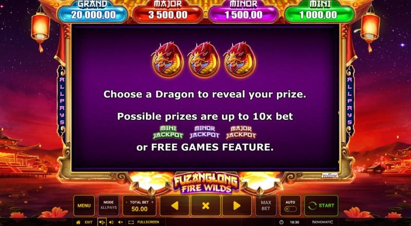 Fuzanglong Fire Wilds :: Bonus Feature