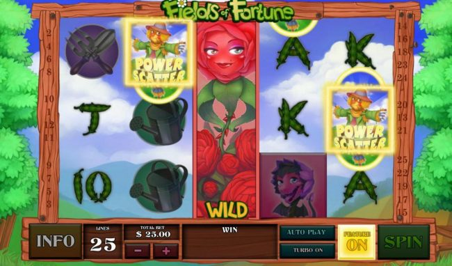 Crown Europe featuring the Video Slots Fields of Fortune with a maximum payout of $5,000