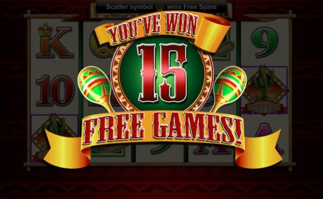 Fiesta Senorita :: 15 free games awarded