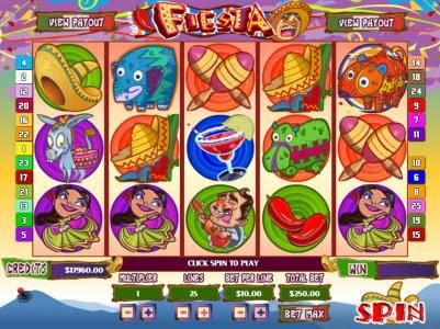 Mission 2 Game featuring the Video Slots Fiesta with a maximum payout of Jackpot
