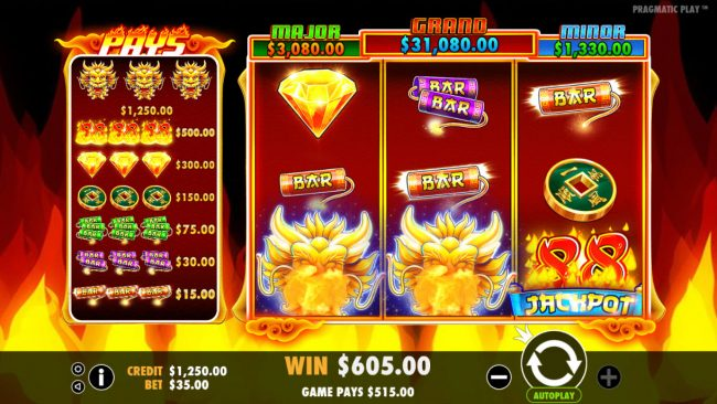 Fire 88 :: Super Big Win