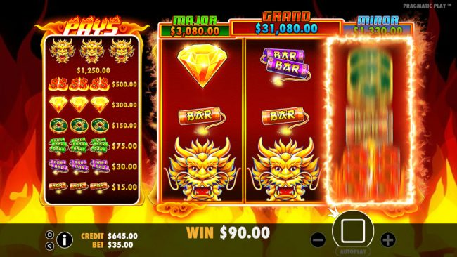 Noxwin featuring the Video Slots Fire 88 with a maximum payout of Jackpot