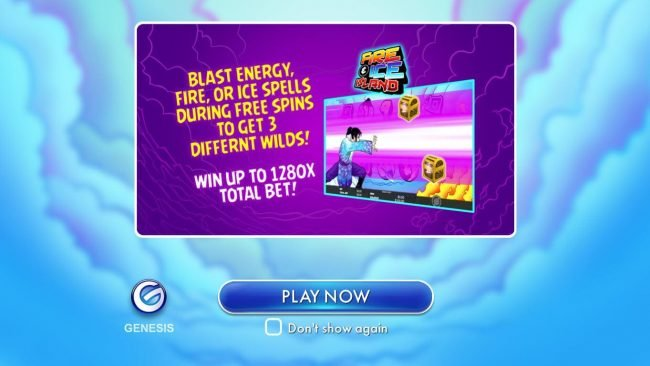 Play slots at Norskespill: Norskespill featuring the Video Slots Fire and Ice Island with a maximum payout of $100,000