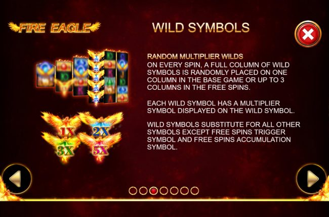 Fire Eagle :: Wild Symbol Rules