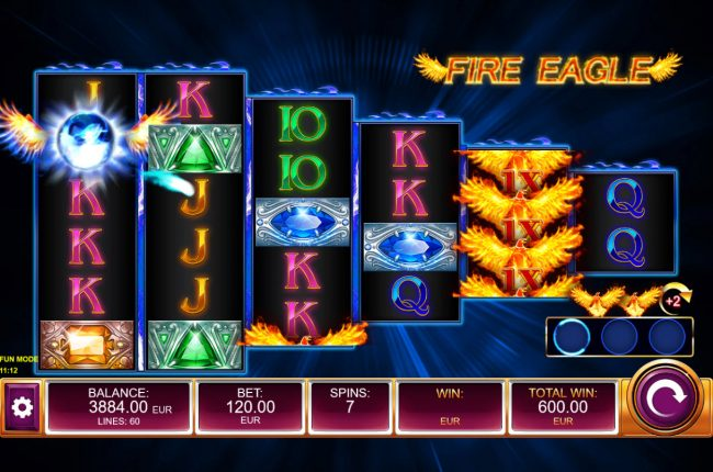 Fire Eagle :: Free Spins Game Board
