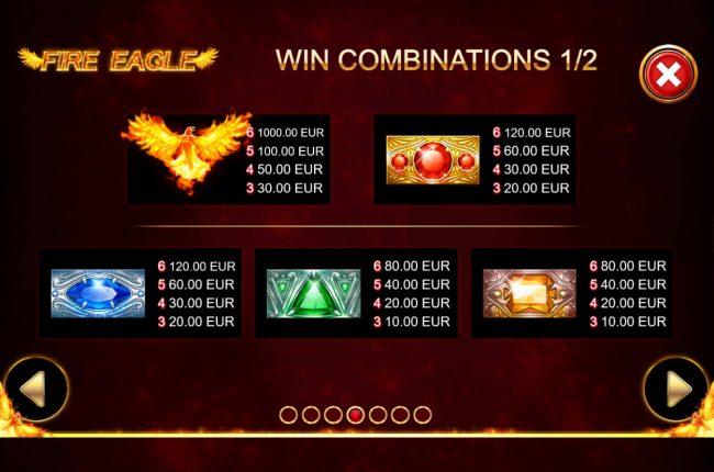 Fire Eagle :: High Value Symbols