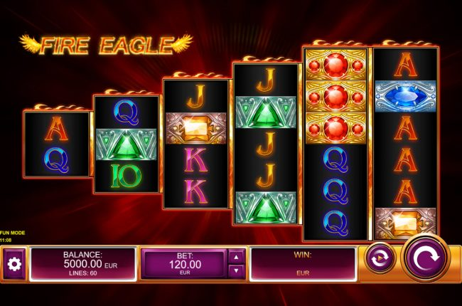Play slots at Lapalingo: Lapalingo featuring the Video Slots Fire Eagle with a maximum payout of $60,000